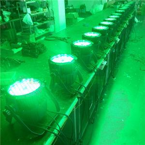 Impermeable al aire libre RGB 3in1 54X3W de luz LED PAR etapa puede
