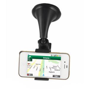 Aluminiumlaptop-Halter-Großverkauf-Windschutzscheiben-Montierungs-Zellen-Handy-Halter-Halter steht für Smartphone