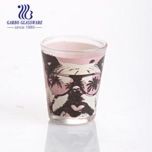 50мл малых водки Shot стекло наружного кольца подшипника с помощью настраиваемых печать (ГБ070402 DR 158 T)