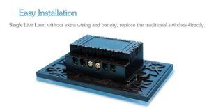 3pista 2 do conector do Interruptor Inteligente Botão cobre o redutor de interruptor elétrico