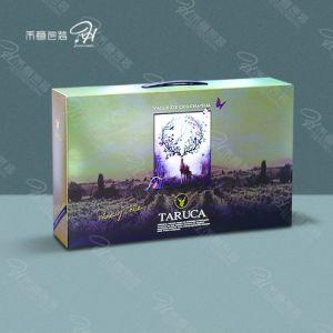 Camisa de vestir personalizadas embalaje vino Portable Caja de regalo/Silvan ciervos seis botellas de vino Caja de regalo