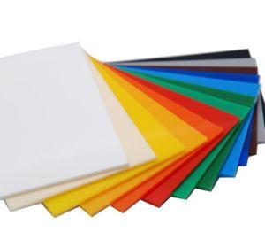 Бесплатный цветной Прозрачный акриловый лист проб