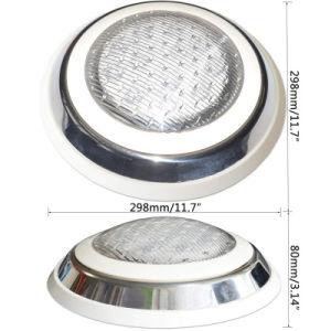 Indicatore luminoso subacqueo della piscina LED 12V della fabbrica con telecomando