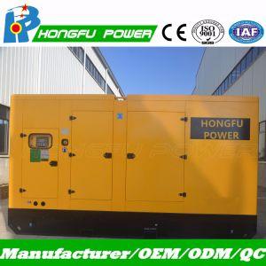 generatore diesel silenzioso 165kVA con i cilindri del Cummins Engine 6btaa5.9-G12 6