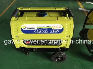 Neuer Entwurfs-Schlussteil-Typ Benzin-Generator-Set mit Schlüsselanfang