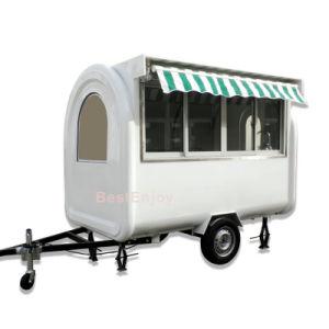 280X170cmのホットドッグのカートMobile FoodヴァンTrailerオーストラリア
