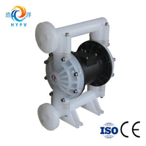 Pompa a diaframma pneumatica resistente chimica di plastica dell'aria di Aodd doppia