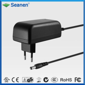 UL GS marcação AEA aprovou 24 W de Potência de comutação do adaptador AC/DC