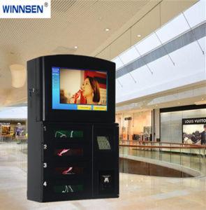 イベントのためにスクリーンの携帯電話の充満キオスクを広告する43インチLCD