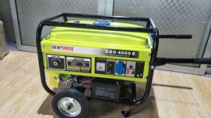 Motore di benzina, 4 generatore freddo dell'aria Gp-5000W del colpo