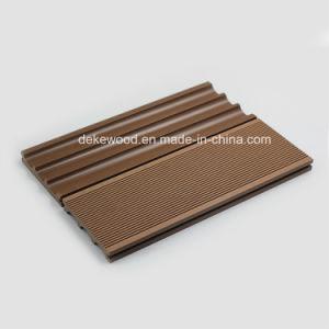 Decorar la madera de la Junta compuesto de Plástico Material WPC pisos revestimientos con ISO, CE, FSC.