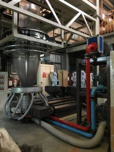 IBCの省エネの多フィルムの吹く機械