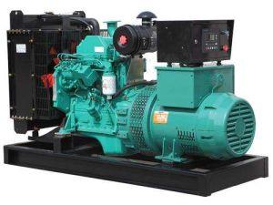 Con motor Perkins silencioso generador diésel de 350kVA.