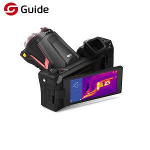 5  접촉 스크린 휴대용 고해상 IR 온도 기록 사진기, 적외선 열 영상, IR 해결책 640*480를 가진 열 사진기