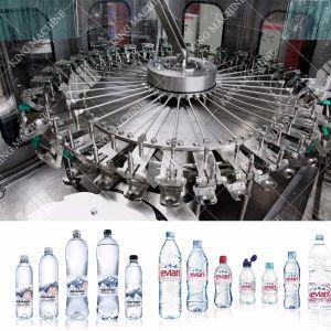 Flaschenabfüllmaschine des automatischen Plastikwasser-3-in-1