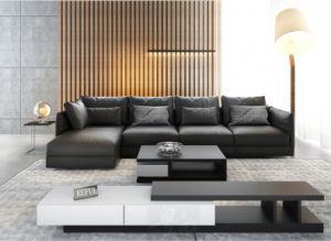 オーストラリアのホーム家具の居間セットの革羽のソファー