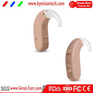Audiencia digitales inalámbricos abiertos audífonos BTE receptor colocar dispositivos de audición amplificador