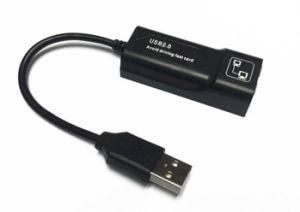 USB 2.0 de la tarjeta de red LAN con cable, sin driver para Win XP/7/8/ El sistema operativo Mac