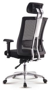 Tejido de malla moderno giro apoyacabezas Gerente Ejecutivo de metal personal de la silla de oficina