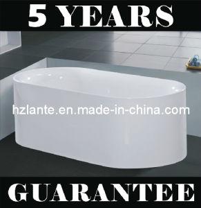 Simple acrílico bañera con estrictamente Test (LT-JF-7055)