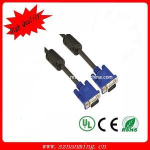 Hoher Resolution 15pin VGA Cable Male zu Male