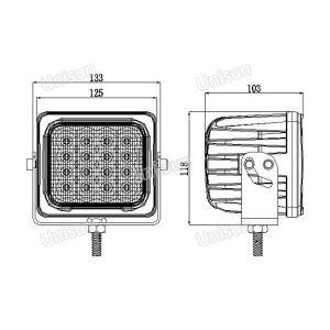 5inch 12V 48W LED Folklift Work Lamp