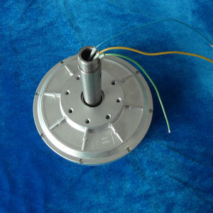 300W 200rpm de As BuitenRotor van de Generator van de Magneet van de Wind van LUF Permanente