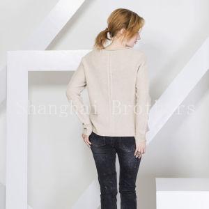 女性方法カシミヤ織のセーター16braw316
