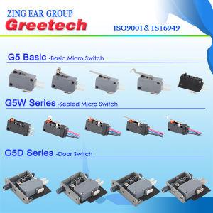 Waterdichte Micro- van de Duiker van de Speld Schakelaar 0.1A met Draden voor AutoElektronika