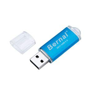 Unidad flash USB de alta velocidad de Metal Disco USB Flash Memory Stick USB Pendrive 64GB 32 GB 16 GB 8 GB de unidades flash USB Pen Drive (TF-0142)