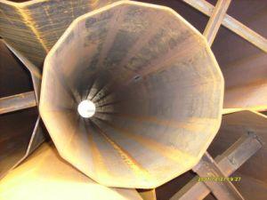 De in de lengte Gelaste Pijp van het Staal van de Druk LSAW