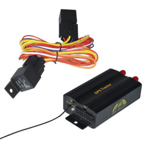 Doppel-SIM Card GPS Trackers mit Lock/offener Tür Function