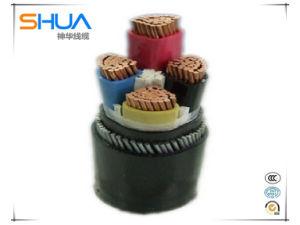 В соответствии с 35кв медных и алюминиевых Core XLPE изоляцией ПВХ пламенно бронированных кабель питания