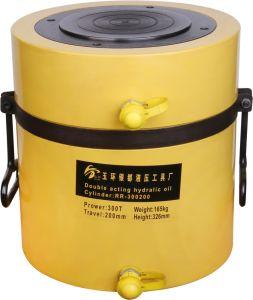 200 la tonelada de doble efecto de retorno de aceite rápido trazo largo cilindro hidráulico (RR-200200)