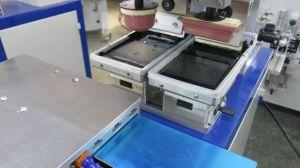 가족 사용 좋은 인기 상품 작은 기계 사용되는 수동 패드 인쇄 기계 2 색깔 장비 인쇄