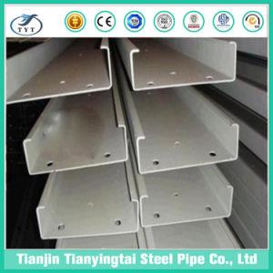 Canal C Tipo de acero al carbono de acero para construcción