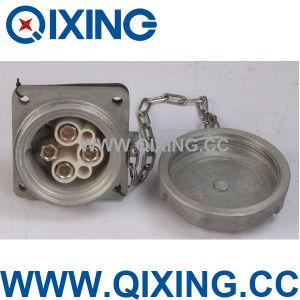 Alliage aluminium 3P+E 420 AMP mâles et femelles industrielles