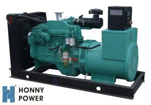 Cummins 6CTAエンジン無声機構120kwのディーゼル発電機