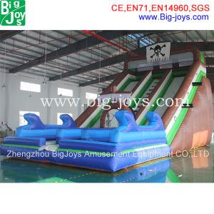 Slide insufláveis gigantes durável para venda