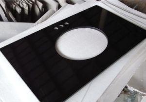 De zwarte Plakken van de Steen van het Graniet voor Countertops