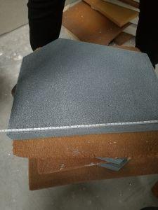 Trapèze Sic en céramique de carbure de filtre en mousse pour le fer de moulage en acier
