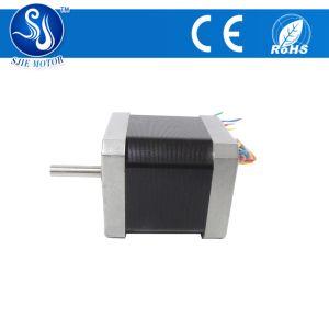 Fase 2 de 48 mm de longitud de 0,9 grado NEMA17 alto par motor de pasos con el eje hueco
