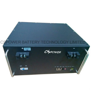 48V 100Ah Telecom 19 pouces, batterie au lithium LiFePO4 Batteries Solaires