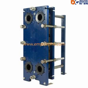 暖房および冷却のための版の熱交換器