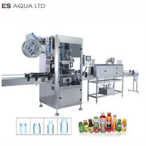 Verre en Plastique rond Carré automatique peut bouteille PVC/PET/PP/OPS manchon rétractable Labler Machines d'étiquetage de la machine de l'imprimante