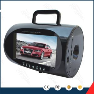 도매 7.5inch LCD 선수 질 USB 텔레비젼 다채로운 휴대용 Boombox DVD 플레이어