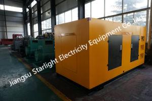 400KW/500kVA silencioso generador eléctrico Diesel con motor Diesel Shangchai aprobado CE