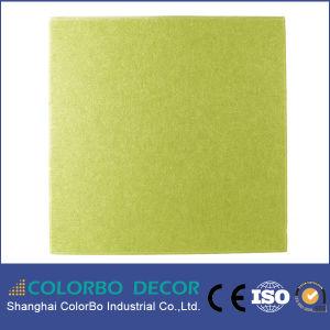 Fertigung bereiten umweltfreundliches Polyester-Faser-akustisches Panel auf