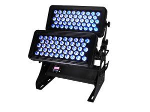 Alta potencia 600W 96*15W 5en1 Rgbaw luz de color de la ciudad de LED bañador de pared LED impermeable de DJ Luz Efecto de iluminación de escenarios