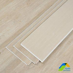Fabricante China 4mm de espesor de 5 mm de plástico resistente al agua Suelo piso de vinilo suelos PVC Haga clic en